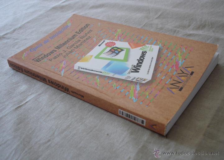 Libros de segunda mano: WINDOWS MILLENNIUM EDITION - GUIA DE INICIACIÓN - PABLO J.GARCIA NUÑEZ JULIAN MARTINEZ - ANAYA 2000. - Foto 2 - 48346271