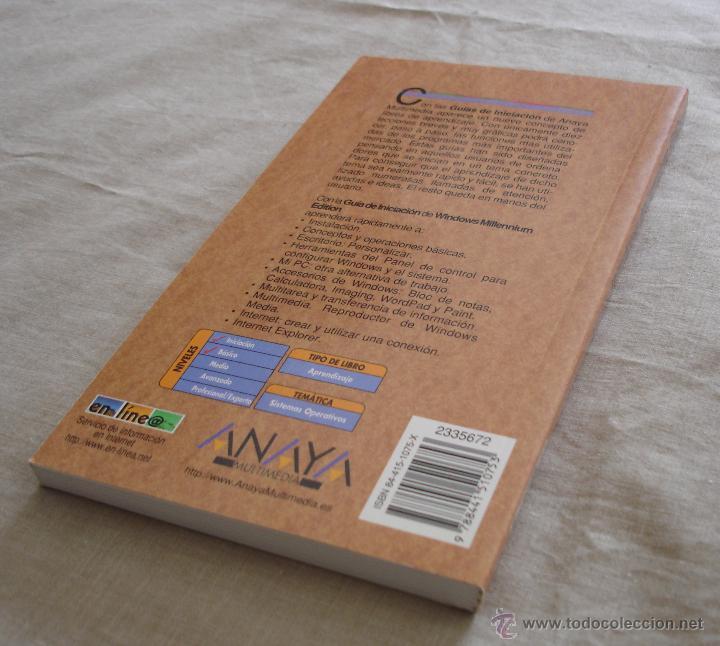 Libros de segunda mano: WINDOWS MILLENNIUM EDITION - GUIA DE INICIACIÓN - PABLO J.GARCIA NUÑEZ JULIAN MARTINEZ - ANAYA 2000. - Foto 4 - 48346271