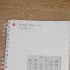 Libros de segunda mano: MACINTOSH - HYPERCARD - USER´S GUIDE. Lote 48595618