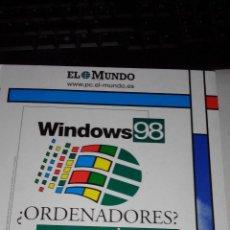 Libros de segunda mano: WINDOWS 98 - EL MUNDO. Lote 48623314