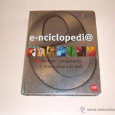 Libros de segunda mano: VV.AA. E-ENCICLOPEDIA. SIEMPRE ACTUALIZADA Y CONECTADA A LA RED. RM68815.. Lote 48998340