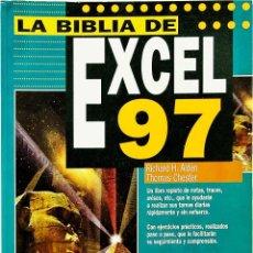 Libros de segunda mano: LA BIBLIA DE EXCEL 97 - ANAYA MULTIMEDIA - CHESTER / ALDEN. Lote 49106499