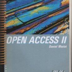 Libros de segunda mano: OPEN ACCESS II. MEZIAT, DANIEL. A-INFOR-193. Lote 83276055