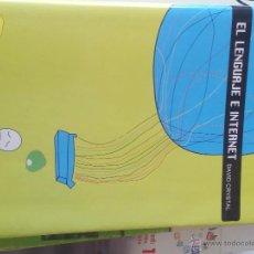 Libros de segunda mano: EL LENGUAJE DE INTERNET. Lote 50123306