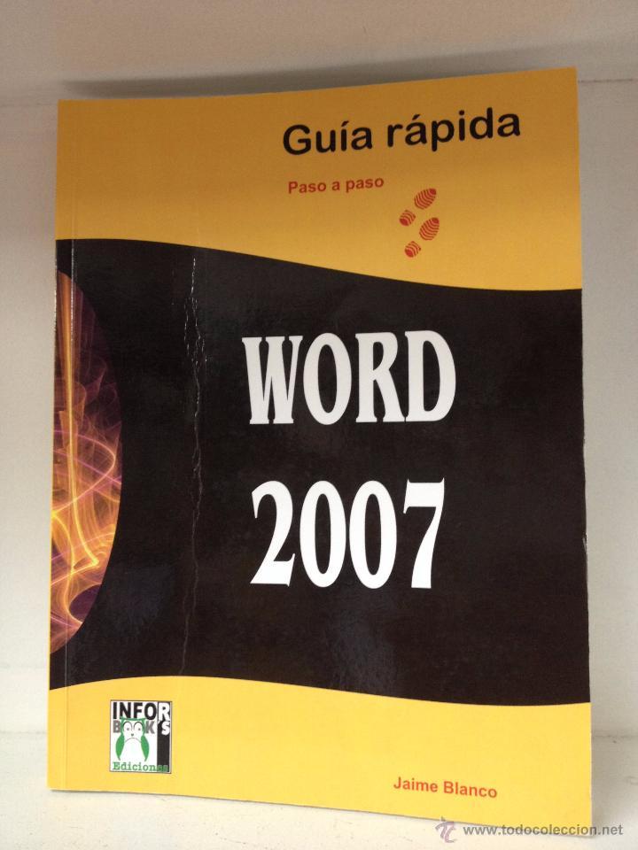 WORD 2007 (Libros de Segunda Mano - Informática)
