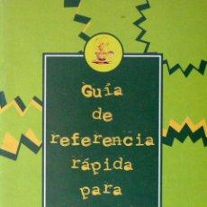 Libros de segunda mano: GUÍA DE REFERNCIA RÁPIDA PARA DOMINAR JAVA WORKSHOP. Lote 51383841