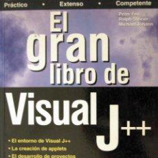 Libros de segunda mano: EL GRAN LIBRO DE VISUAL J++. Lote 51383900