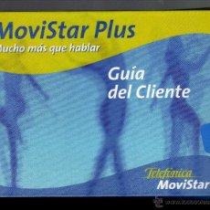Libri di seconda mano: GUÍA DEL CLIENTE TELEFÓNICA MOVISTAR PLUS - 36 PÁGINAS -. Lote 51659475