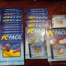 Libros de segunda mano: PC ES FÁCIL CURSO DE INFORMÁTICA PASO A PASO 18 NÚMEROS Y 3 CDS. Lote 51728291