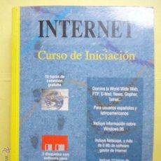 Libros de segunda mano: INTERNET CURSO DE INICIACIÓN. . Lote 52067961
