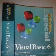 Libros de segunda mano: VISUAL BASIC 6 EDICIÓN ESPECIAL CLARO. CONCISO. FIABLE 1999 BRIAN SILER & JEFF SPOTTS ED. P. HALL. Lote 52466585
