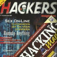 Libros de segunda mano: LOTE DE 10 REVISTAS DE HACKERS Y 7 DISCOS - HACKING. Lote 52522213