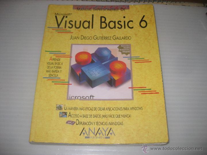 VISUAL BASIC 6. 1999 (Libros de Segunda Mano - Informática)