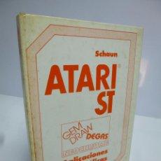 Libros de segunda mano: ATARI ST ( SCHAUN)) APLICACIONES GRÁFICAS, NEOCHROME, DEGAS, GEM DRAW, DATA BECKER 1986. Lote 190843522