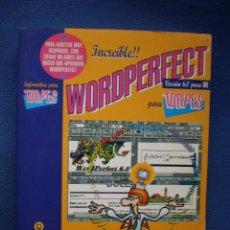 Libros de segunda mano: WORDPERFECT PARA TORPES. Lote 52984806