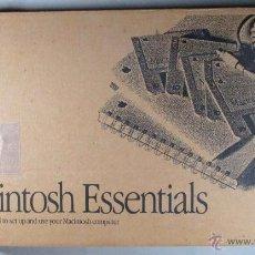 Libros de segunda mano: MACINTOSH ESSENTIALS , APPLE COMPUTER , DISK , CLARIS , MANUAL , GUIA DE USUARIO , QUICKTIME. Lote 53244326