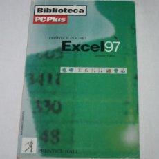 Libros de segunda mano: EXCEL 97, JENNIFER FULTON, BIBLIOTECA PC PLUS 1997, LIBRO PRACTICO DE INFORMATICA. Lote 53293930