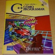 Libros de segunda mano: COMO PROGRAMAR EN C++ INTRODUCCION A LA PROGRAMACION DE JUEGOS Y LAS BIBLIOTECAS BOOST (INCLUYE CD). Lote 53535318