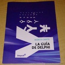 Libros de segunda mano: LA GUIA DE DELPHI.MARCO CANTU.. Lote 53535521