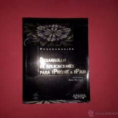 Libros de segunda mano: 'DESARROLLO DE APLICACIONES PARA IPHONE & IPAD' DE JOE CONWAY Y AARON HILLEGASS. Lote 54736493