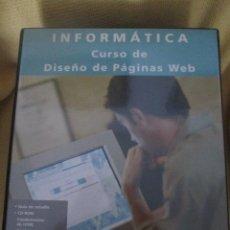 Libros de segunda mano: INFORMATICA CURSO DE DISEÑO DE PAGINAS WEB - FUNDAMENTOS DE HTML. Lote 54749807