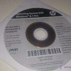 Libros de segunda mano: WINDOWS 8.1 PRO 64 BITS HP COMPAQ PC NUEVO. Lote 135457455