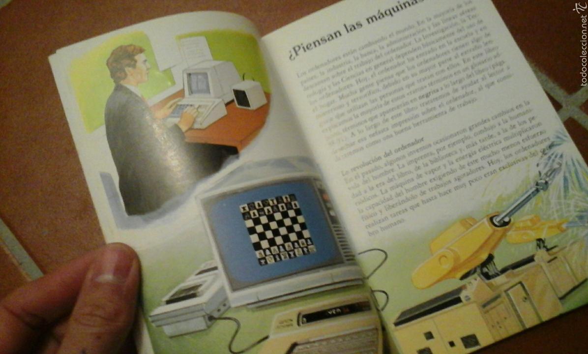 Libros de segunda mano: El mundo de los ordenadores.Anaya.1985 - Foto 4 - 55086476