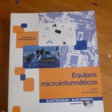 Libros de segunda mano: EQUIPOS MICROINFORMATICOS. BERRAL MONTERO. PARANINFO. 2010 394PP CD INCORPORADO.. Lote 55114384