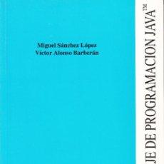 Libros de segunda mano: EL LENGUAJE DE PROGRAMACIÓN JAVA(TM). AA. VV. 356 PP.. U.POLITÉCNICA VALENCIA.. Lote 55201942