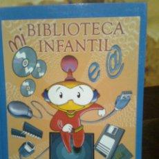 Libros de segunda mano: MI BIBLIOTECA INFANTIL. INFORMÁTICA (AUPPER,2006) CARTONÉ GRAN FORMATO MUY ILUSTRADO 144 PGS. Lote 55701467