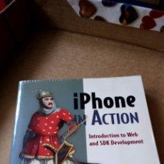 Libros de segunda mano: IPHONE IN ACTION - CHRISTOPHER ALLEN & SHANNON APPLELCLINE (PROGRAMACIÓN MOVILES IPHONE). Lote 56372328