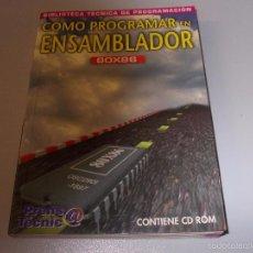 Libros de segunda mano: CÓMO PROGRAMAR EN ENSAMBLADOR 80X86, PRENSA TÉCNICA 1.997, SIN CD ROM. Lote 56509201