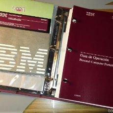 Libros de segunda mano: 3 MANUALES ORDENADOR PORTÁTIL IBM DEL AÑO 1985. Lote 56510518