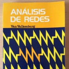 Libros de segunda mano: ANÁLISIS DE REDES. VAN VALKENBURG . 1999. Lote 56922227