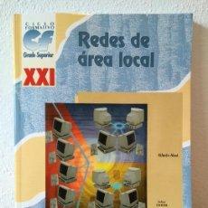 Libros de segunda mano: REDES DE ÁREA LOCAL. ALFREDO ABAD. 2001. Lote 56922655
