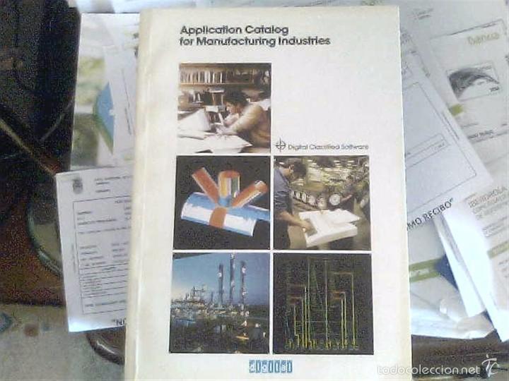 APPLICATION CATALOG FOR MANUFACTURING INDUSTRIES (Libros de Segunda Mano - Informática)
