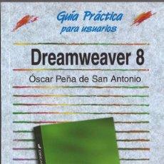 Libros de segunda mano: DREAMWEAVER 8. ANAYA MULTIMEDIA, 2007. Lote 57001971