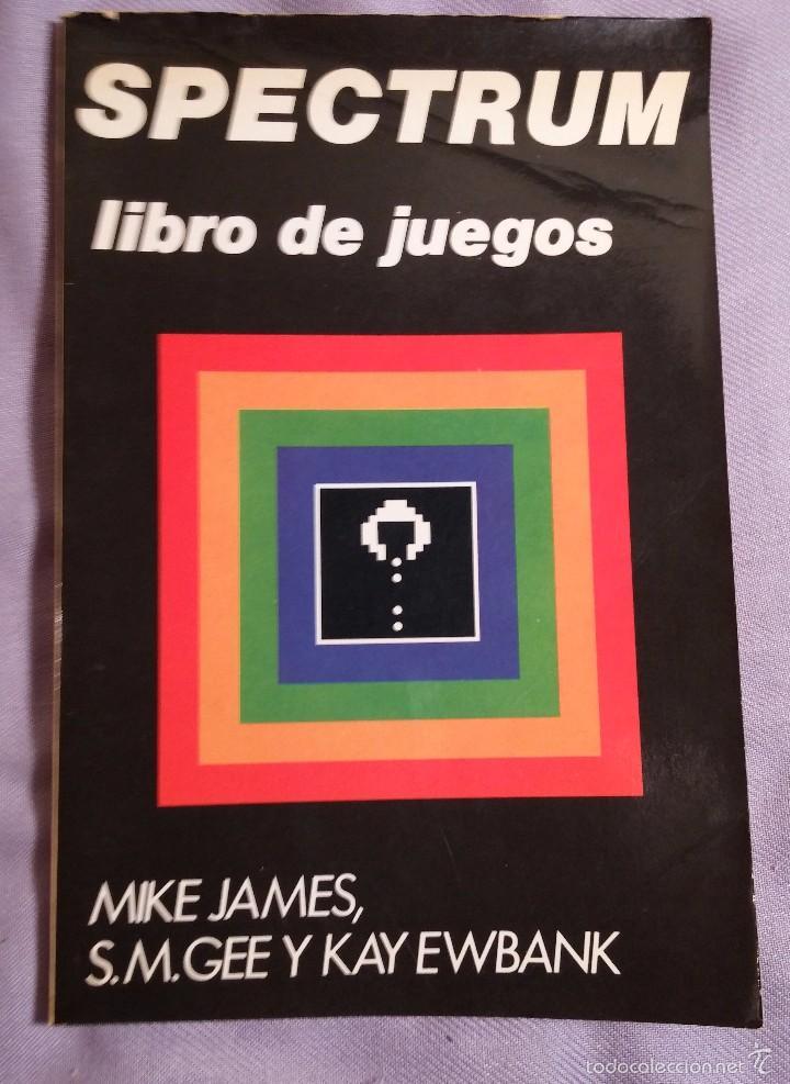 SPECTRUM LIBRO DE JUEGOS ED. DIAZ DE SANTOS 1984 (Libros de Segunda Mano - Informática)