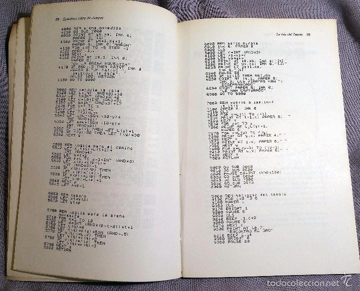 Libros de segunda mano: SPECTRUM libro de juegos Ed. DIAZ DE SANTOS 1984 - Foto 4 - 57773201