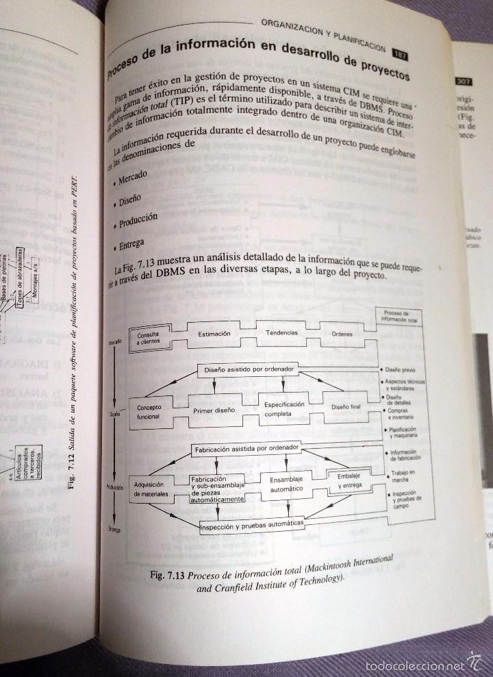 Libros de segunda mano: CADCAM por BARRY HAWKES , EDICIONES PARANINFO, 1989 - Foto 6 - 57793223