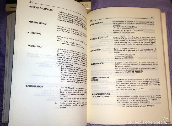 Libros de segunda mano: DICCIONARIO INFORMATICA INGLES-ESPAÑOL ED.PARANINFO 1984 - Foto 5 - 57793458