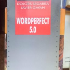 Libros de segunda mano: WORDPERFECT 5.0 --REFM1E2. Lote 57821287