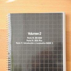Libros de segunda mano: MANUAL DE AMSTRAD PC1512. VOLUMEN 2.. Lote 47306812