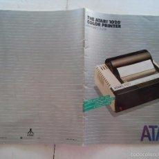 Libros de segunda mano: REVISTA - ATARI - THE ATARI 1020 COLOR PRINTER - OWNER'S GUIDE Y BOLIGRAFOS DE LA EPOCA. Lote 58018615