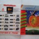 Libros de segunda mano: ATARI - REVISTA COMPUCLUB LA REVISTA PARA LOS USUARIOS DE ATARI. AÑO 1985. Lote 58018695
