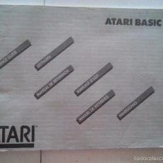Libros de segunda mano: ATARI - ATARI BASIC - MANUAL DE REFERENCIA. Lote 58018721