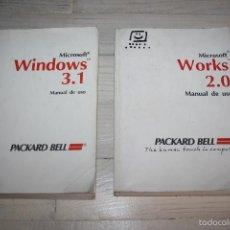 Libros de segunda mano: MANUALES WINDOWS 3.1 Y WORKS 2.0. Lote 58100296