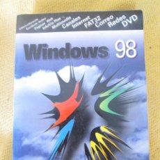 Libros de segunda mano: WINDOWS 98 PARANINFO - JAIME DE YRAOLAGOITIA. Lote 58325293