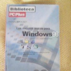 Libros de segunda mano: LOS MEJORES TRUCOS DE WINDOWS 98 - BIBLIOTECA PCPLUS. Lote 58379955