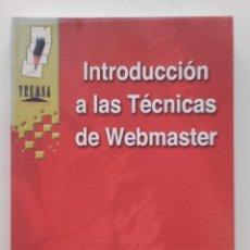 Libros de segunda mano: INTRODUCCIÓN A LAS TÉCNICAS DE WEBMASTER - MANUEL JOSÉ AGUILAR GALLEGO - ED. TREMSA - 2001. Lote 58381071